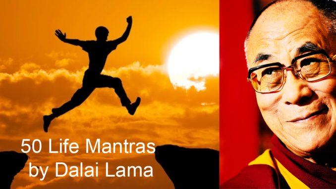 50 Life Mantras By Dalai Lama Scipreneur